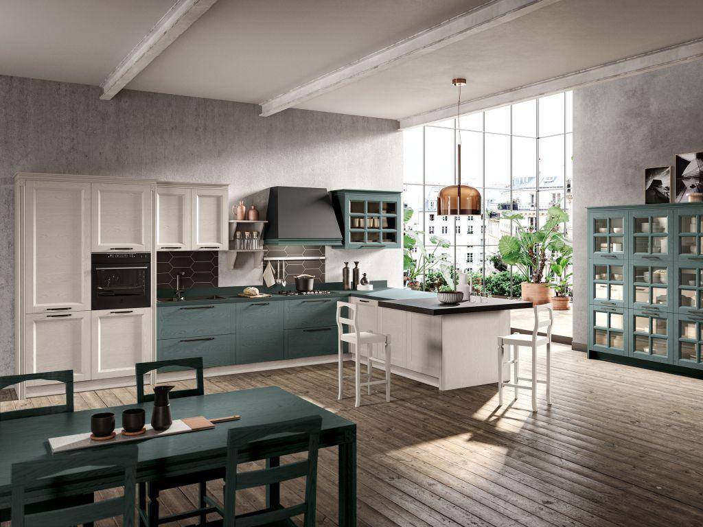 Cucina Classica Beverly a Peschiera Borromeo | Stosa Point ...