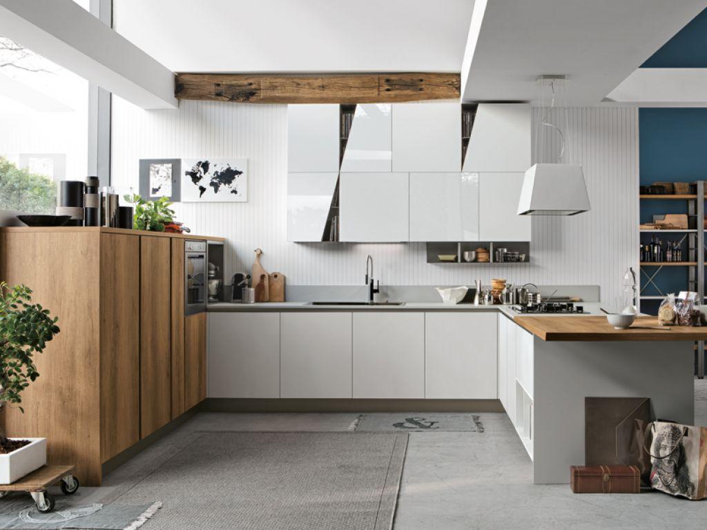 cucine-moderne-stosa-infinity-laminato-legno-cemento-fenix-gola-design-arredamento-peschiera-borromeo-san-donato-milanese-melegnano-lodi-1