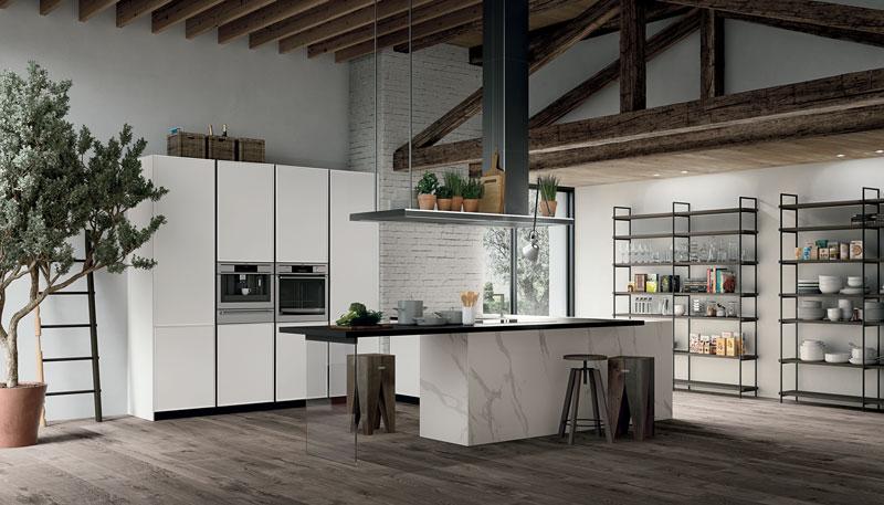 cucine-moderne-stosa-frame-telaio-laccato-peschiera-borromeo-san-donato-milanese-melegnano-lodi-1