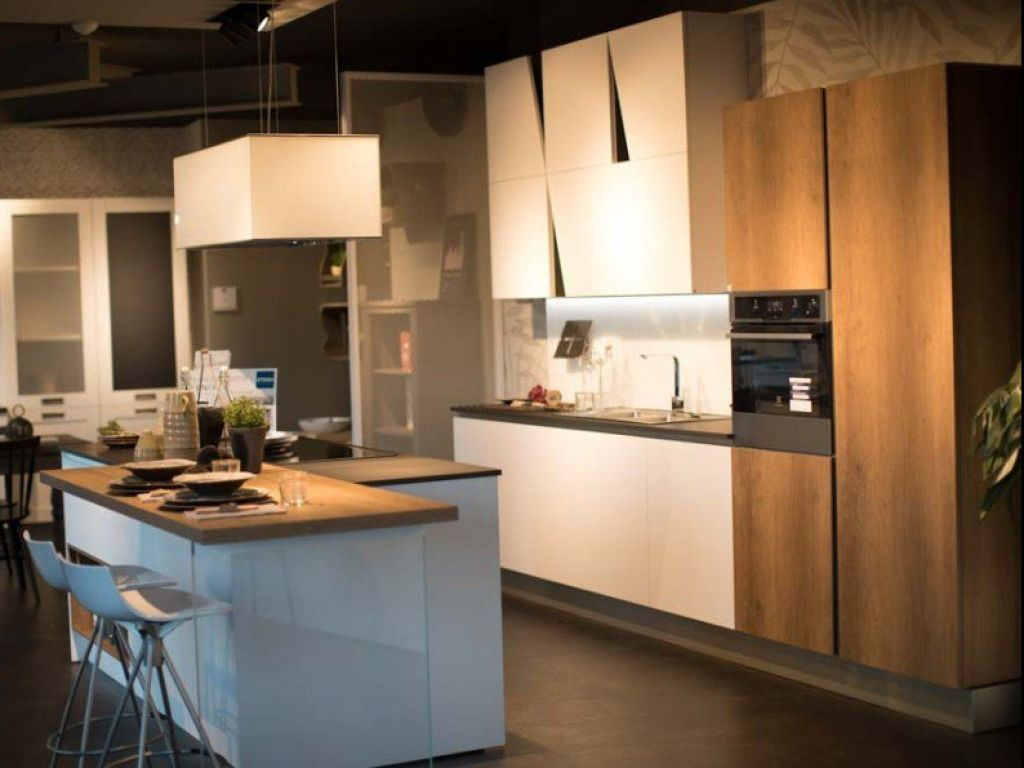 Cucine Modernissime Con Isola cucina moderna infinity in offerta | stosa point peschiera